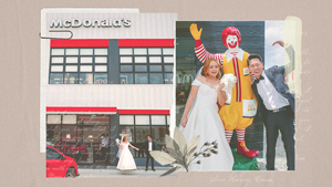 This Couple Had A Kiddie Party-themed Wedding At Mcdonald's