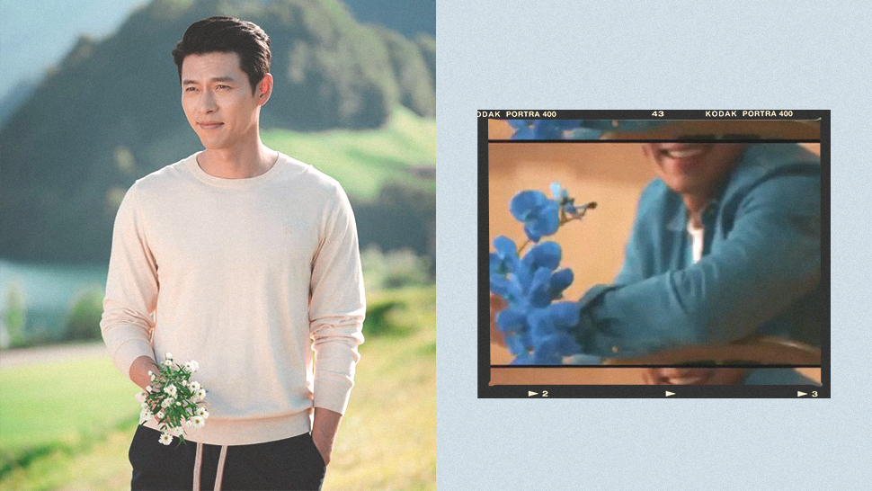 Here's Your First Look At Hyun Bin's Much-awaited Bench Campaign
