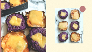 This Fudgy, Gooey Bibingka Will Make Any Ube Cheese Fan Happy