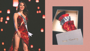 "These Catriona Gray-inspired ""lava"" Masks Will Make You Feel Like Miss Universe"