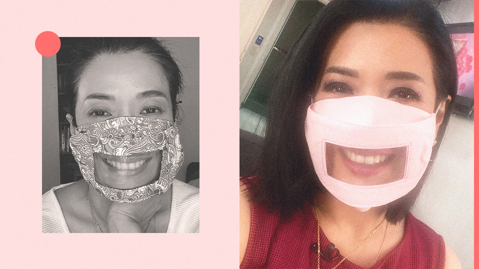 Bernadette Sembrano Created This Face Mask So You Can Still Show Off Your Smile