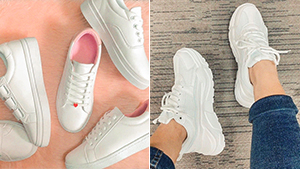Looking For Plain White Sneakers? Here Are 6 Pairs Under P1000