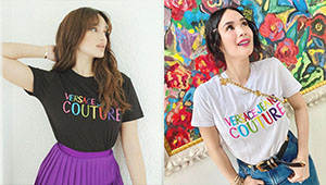 Heart Evangelista And Sarah Lahbati's Matching Pambahay T-shirt Costs P9,500