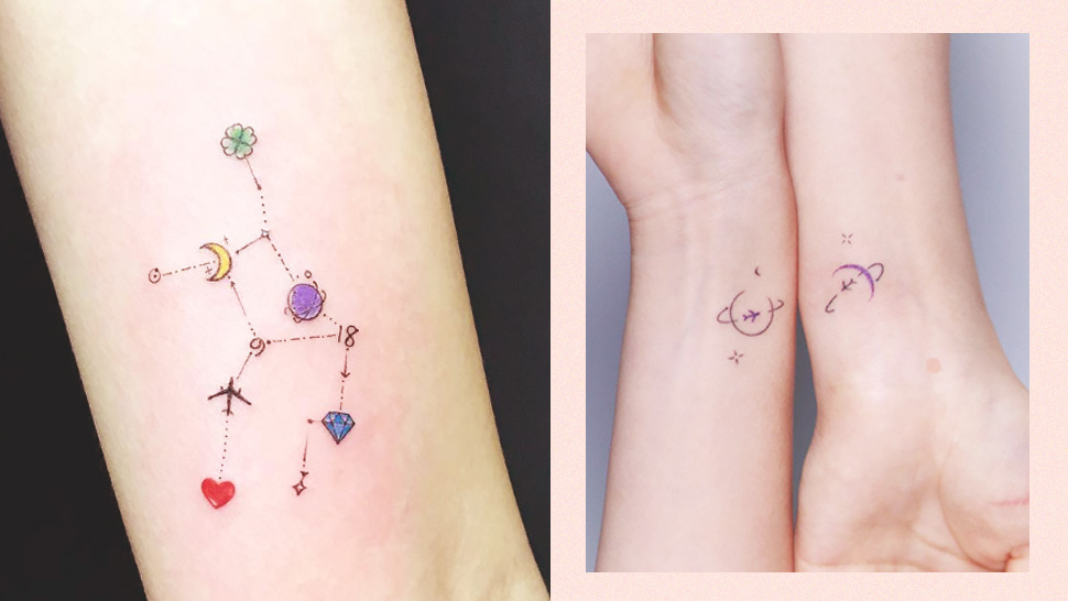 10 Minimalist Tattoo Designs That Will Unleash Your Inner Moon Child