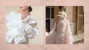 12 Gorgeous Wedding Gowns To Love If You're Obsessed With Ruffles