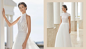 10 High-neck Wedding Dresses For The Modern Bride