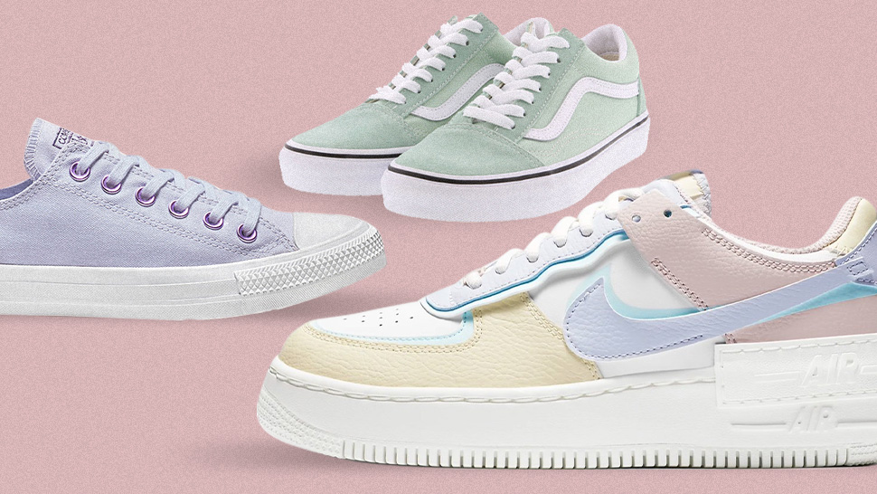 These Cute Pastel Sneakers Will Add a Fun Pop of Color to Your Shoe Collection