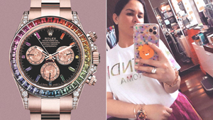 Would You Buy Jinkee Pacquiao's Rolex Rainbow Daytona Watch For P16.3 Million?