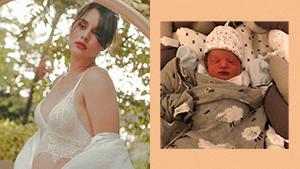 Max Collins Posts First Photo Of Her Newborn Baby Boy