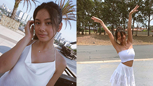 Ylona Garcia Will Convince You That Wearing White Always Looks Great