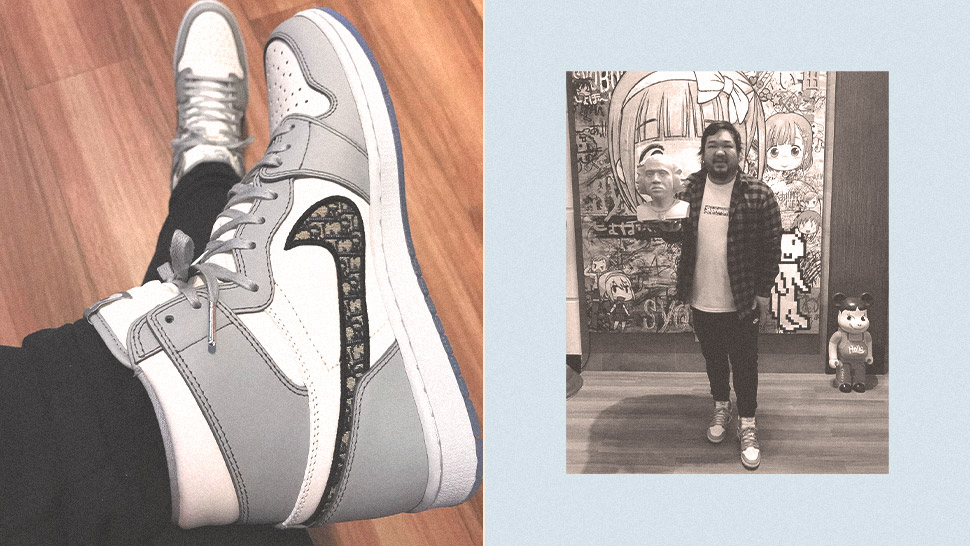This Filipino Sneaker Collector Got Air Diors Before Everyone!