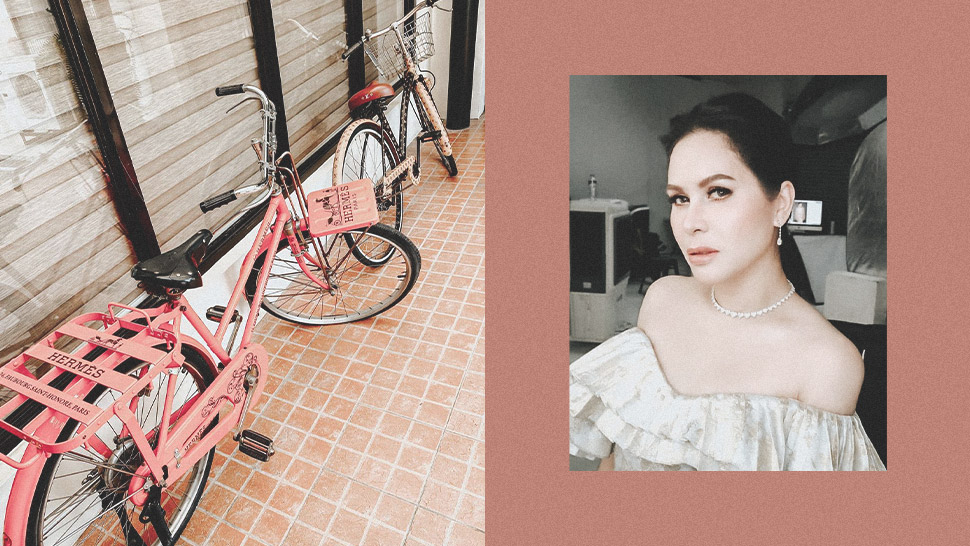 Jinkee Pacquiao Owns Designer Bikes From Hermes and Louis Vuitton—Here's How Much They Cost