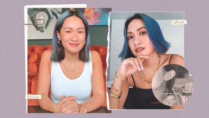 You Have To See Laureen Uy's Diy Blunt Bob Haircut At Home