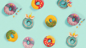 Krispy Kreme Just Released Candy Doughnuts And They're Too Pretty To Eat
