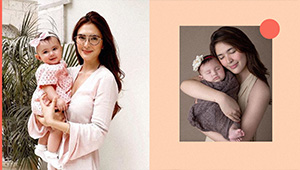5 Stylish Mother-daughter Ootds We Spotted On Sofia Andres And Baby Zoe