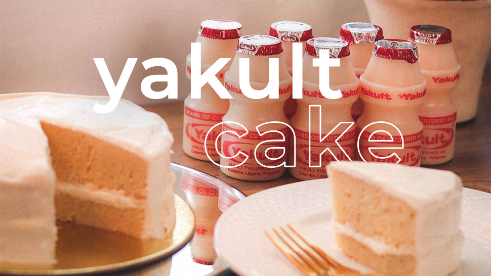 Yakult Cake Exists and Here's Where You Can Try It!