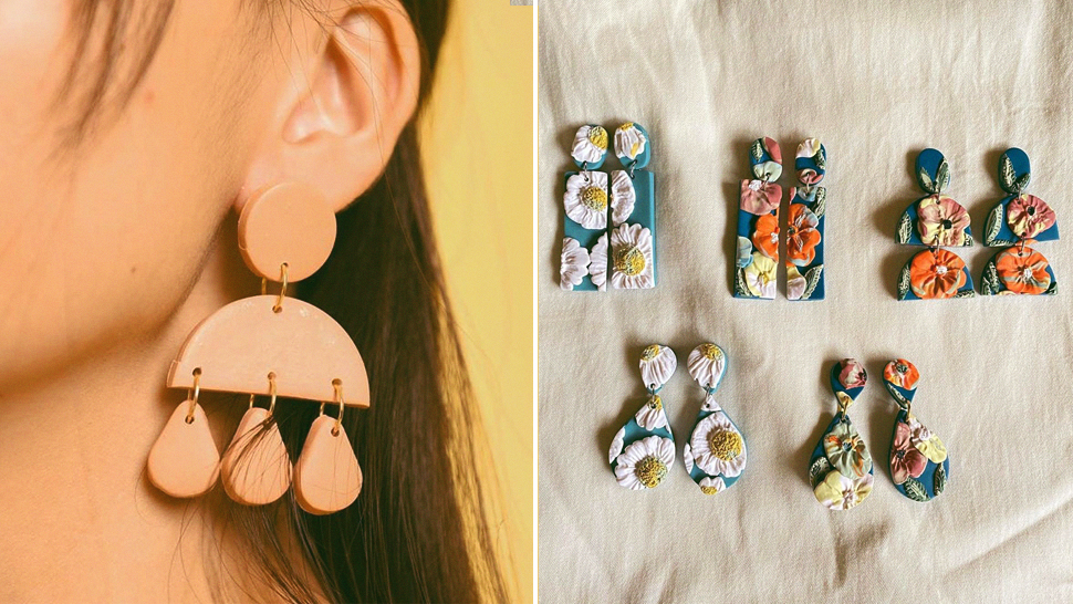 6 Local Online Stores That Sell The Prettiest Handmade Clay Earrings