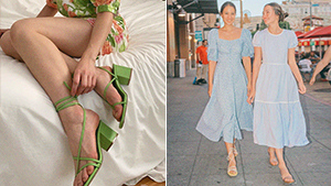 10 Dress And Sandals Outfit Combinations That Always Look Fresh