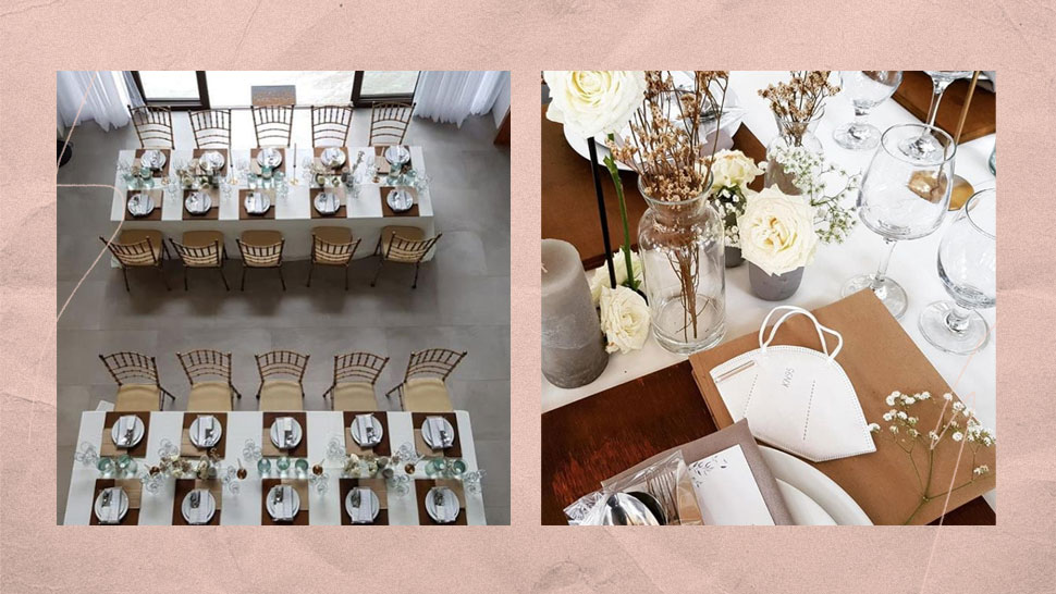This Is How an Intimate Wedding Is Set Up in GCQ
