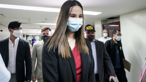 Catriona Gray Arrives At Nbi To File A Complaint Against Uploader Of Her Fake Nude Photos