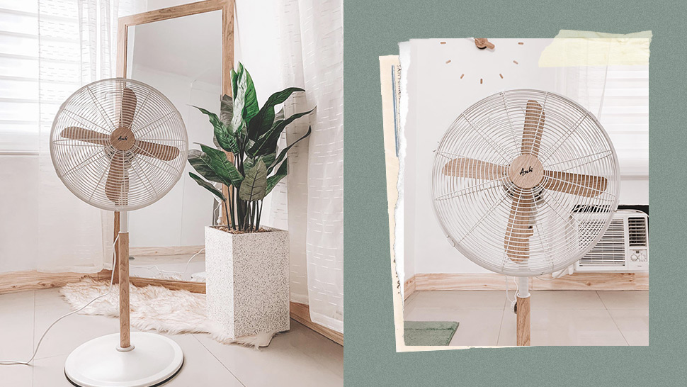This Aesthetic Electric Fan with Wooden Accents Is Made for Minimalists