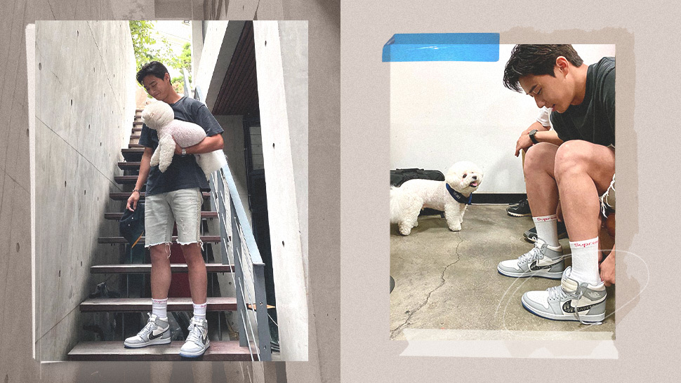 Here's Why We Can't Get Over Park Seo Joon's Designer Sneakers In This Ootd