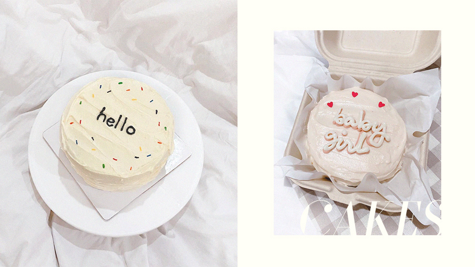 Tiny Minimalist Cakes Exist and Here's Where You Can Get Them
