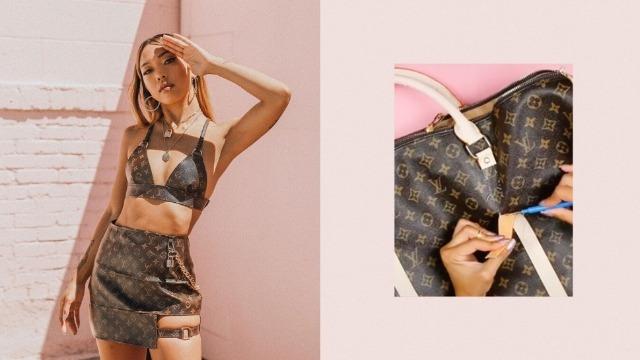 This Tiktok Diy Star Transforms Handbags Into Stunning New Outfits