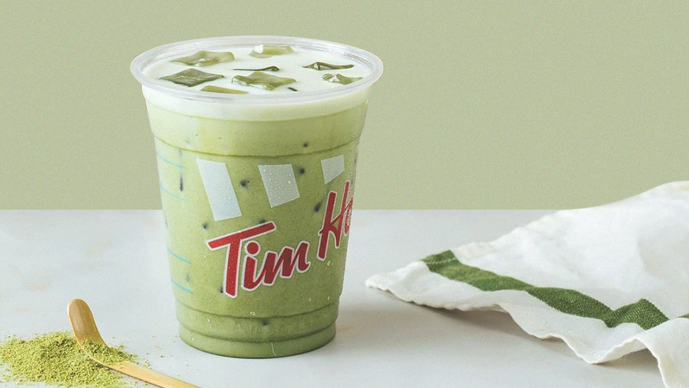 Matcha Lovers, Tim Hortons' New Iced Latte Is Made for You!