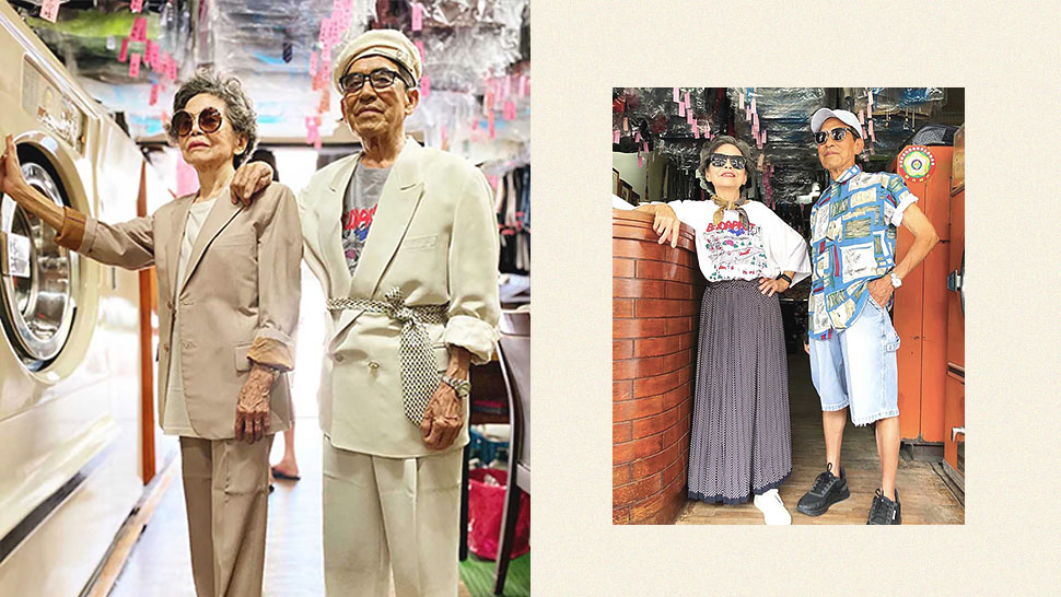 This Elderly Taiwanese Couple Became Insta-Famous for Their Hip OOTDs