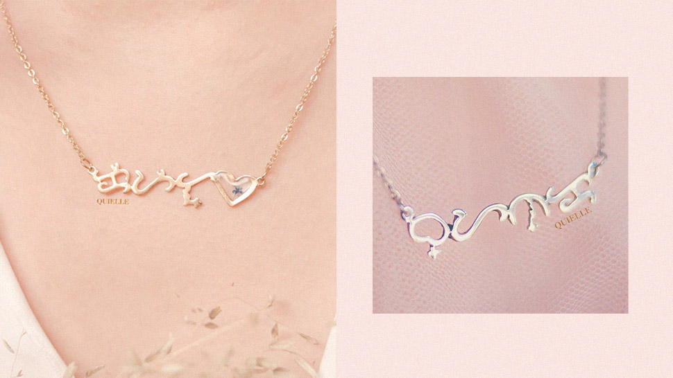 """This Local Brand Creates Beautiful """"baybayin"""" Necklaces For Filipino Pride"""