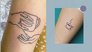 10 Minimalist Tattoos To Get If You Live For Coffee