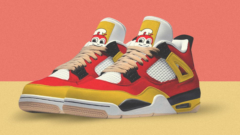 Jollibee-themed Sneakers Exist And Here's Where To Get Them