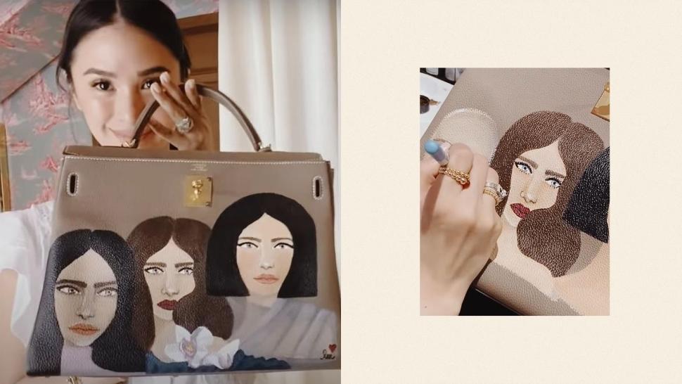 Heart Evangelista Finally Reveals How She Paints on Hermès Bags