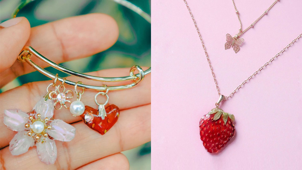 This Local Brand Turns Real Fruits And Flowers Into Pretty Accessories