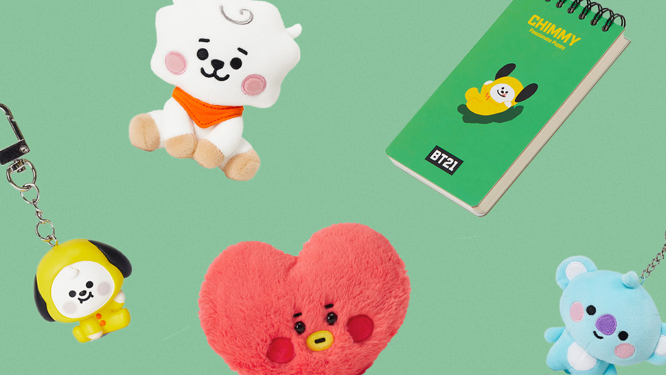 Good News, ARMY: You Can Now Shop BT21 Merch Online!