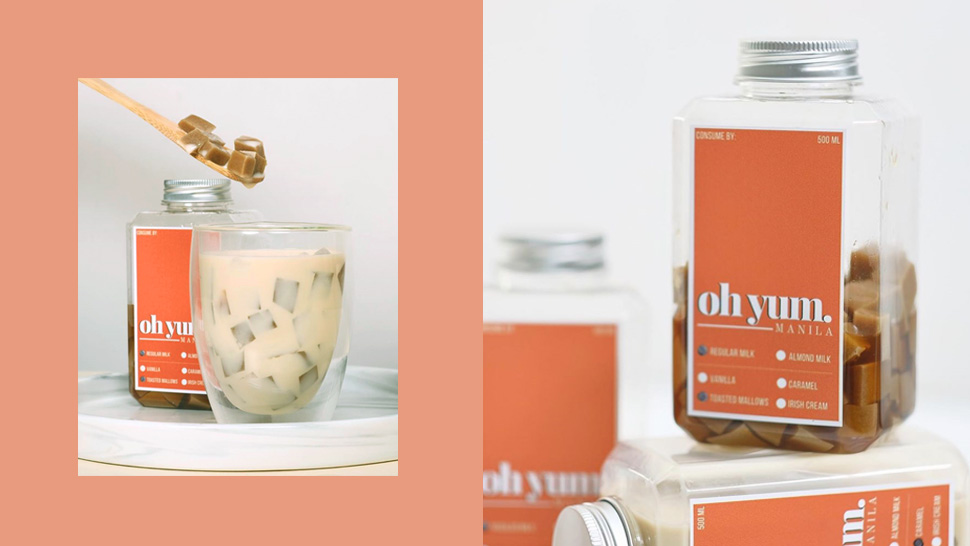 This Creamy Coffee Jelly Comes in Aesthetic Minimalist Bottles