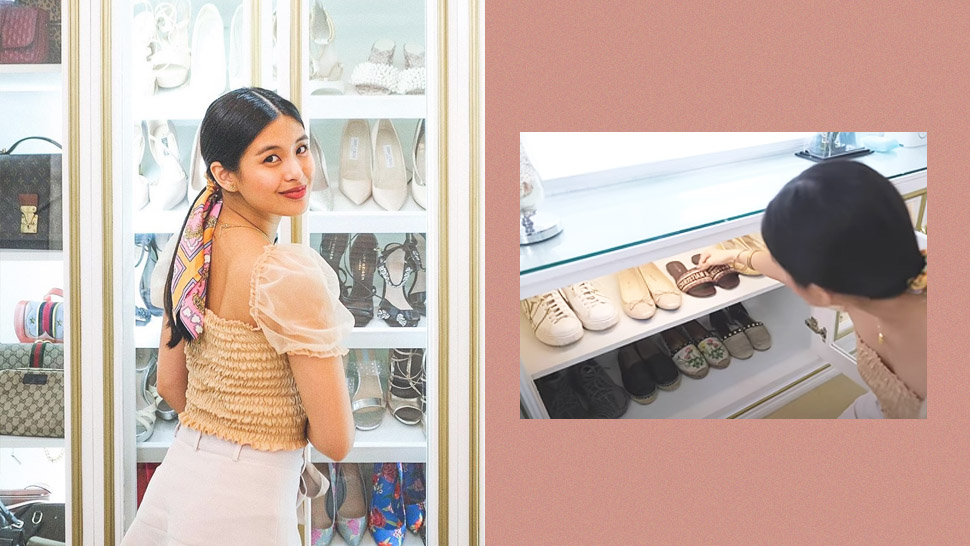 Gabbi Garcia's Walk-In Closet Is Stocked With the Dreamiest Designer Pieces