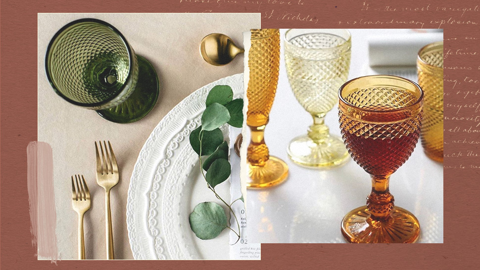 This Instagram Shop Sells Colorful Goblets For Your Fancy Dinner Setup