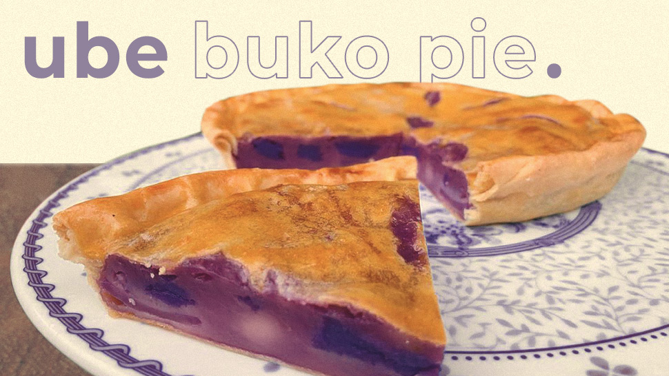 "We Found A Bakery That Makes ""ube Buko Pie"" And It Looks So Good"