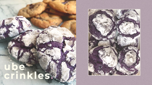 This Instagram Bakeshop Sells Soft And Chewy Ube Crinkles You'll Love