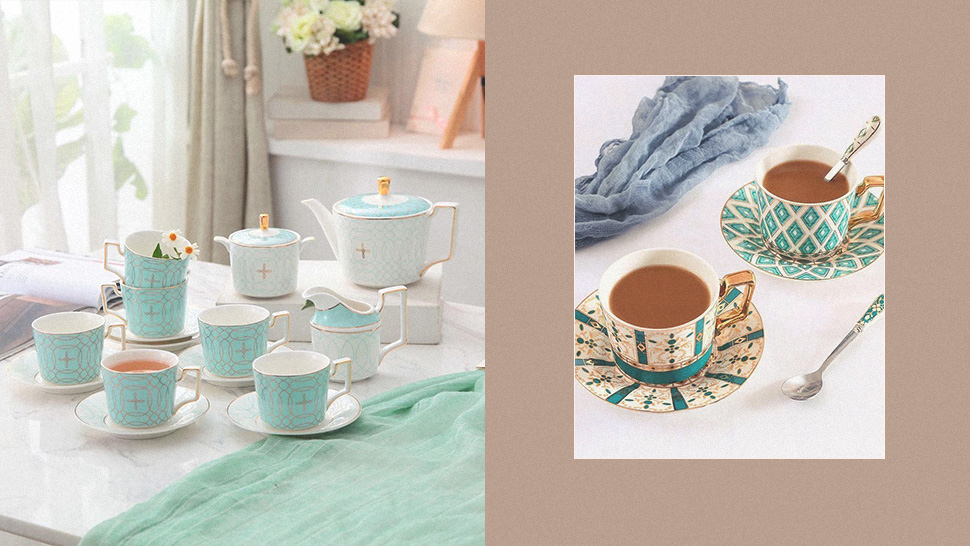 Shop Elegant Dinnerware and Dainty Tea Sets at This Online Shop