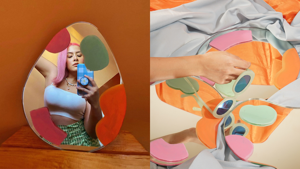 These Handpainted Mirrors Will Instantly Make Your Space Look Aesthetic