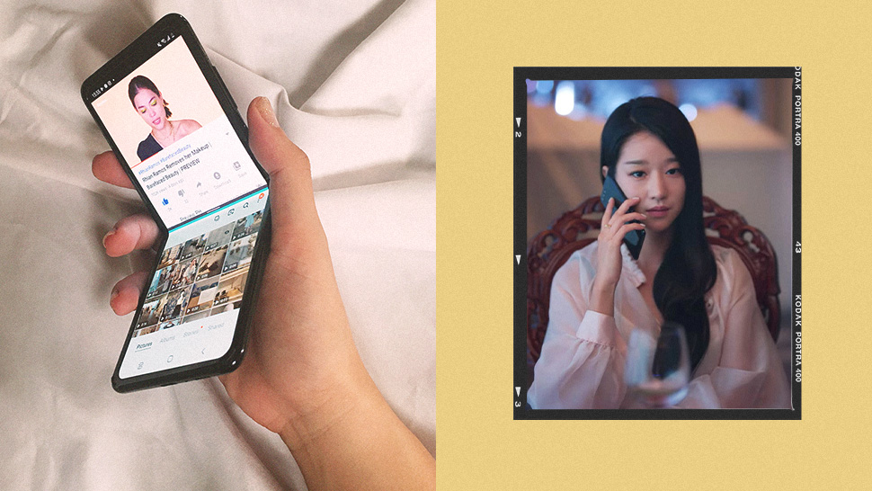 We Tried The Exact Smartphone Seo Ye Ji and BTS Love