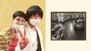 Oh Jung Se Dressed As Moon Sang-tae To Visit Lotte World With A Fan
