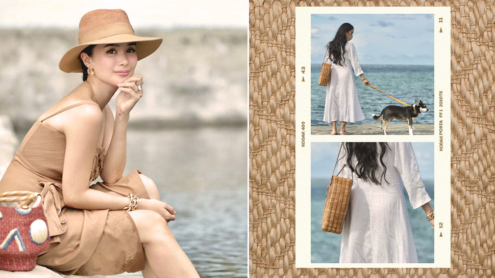 These Locally Made Bags Seem to Be Heart Evangelista's Current Fashion Obsession