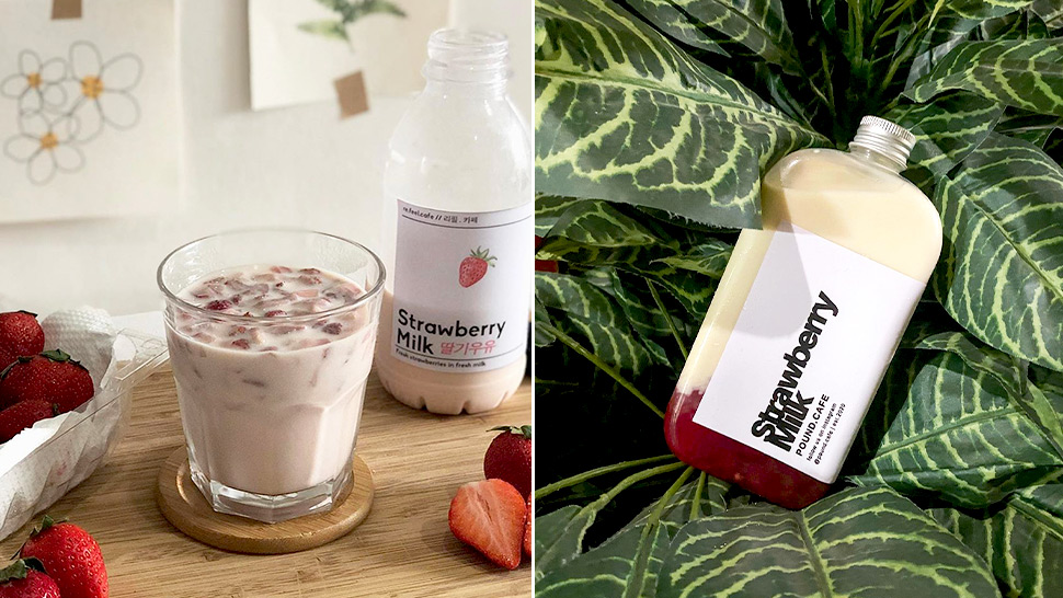 Here's Where You Can Find Fresh Strawberry Milk in Manila