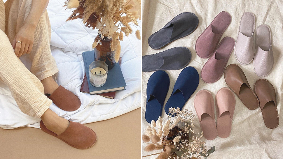 Upgrade Your Pambahay Slippers to These Classy, Aesthetic Leather Slides