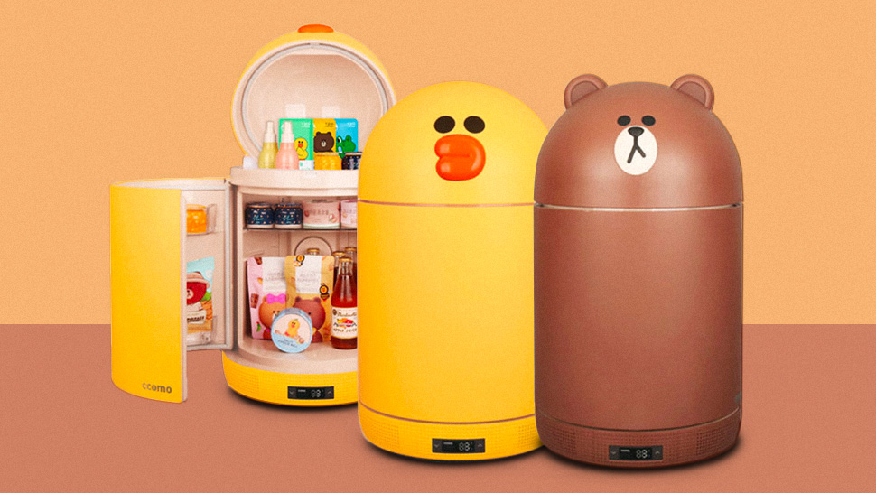 This Super Cute Mini Fridge Is Perfect for Your Bedroom