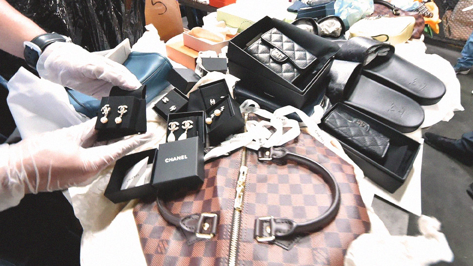 Over P100 Million Worth Of Designer Goods Have Just Been Seized By The Bureau Of Customs